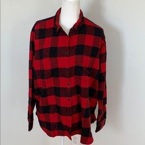Madewell Oversized Plaid Shirt
